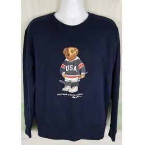 Polo Ralph Lauren pull over Polo Bear Hockey